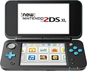 New Nintendo 2DS XL, Nero/Turchese