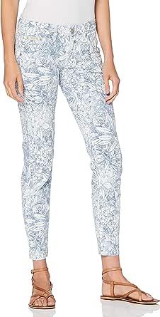 Herrlicher Touch Cropped Pantaloni Donna