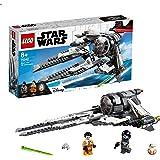 LEGO Star Wars Tie Interceptor Black Ace, Gioco per Bambini, Multicolore, 354 x 191 x 70 mm, 75242