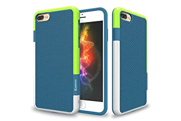 Raytron TM IPhone 6 Plus Case RaytronTM 6s Hybrid Impact 3 Color Shockproof Rugged Soft TPU Hard PC Bumper Extra Front Raised Lip