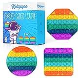 Pack Fidget toy pop it multicolore Objet satisfaisant anti-stress pour enfant pas cher Jeu sensoriel destressant et truc sati