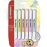 Marcador STABILO swing cool Pastel Edition - Pack con 6 colores pastel