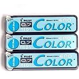 Pilot Farbe Druckbleistift Blei Eno, 0,7mm, weiche Blau, 10× 3Pack/Insgesamt 30Führt (Japan Import) [komainu-dou Original Paket]