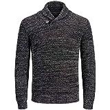 Jack & Jones Men's Jjvincent Knit Shawl Neck Sweater