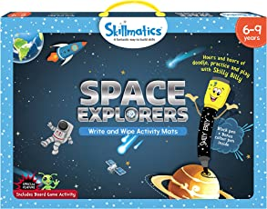 Skillmatics Educational Game Space Explorers 6-9 Years, Multi Color