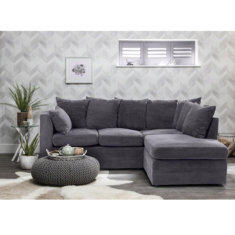 Corner Group Sofa Set Left and Right LEFT BEIGE Amazon