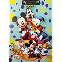 Yash Micky Mouses Cartoon Clipboard Exam Pad/Clipboards/Exam Board/Examination Pad/Writing Pad/Stationery - Size: 9.5 x…