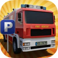 Fire Truck Parking Simulator 2017 : Emergency Fight Fighting Rescue Mission