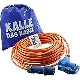 CEE Verlengstuk Kalle Blue Signal 2,5 mm² hoek industriële bouw boot Womo camping volledig pur-premium kabel met 15 jaar gara