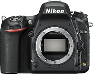 Nikon D750 Appareil photo numérique Reflex 24.3 Mpix Boitier nu Noir