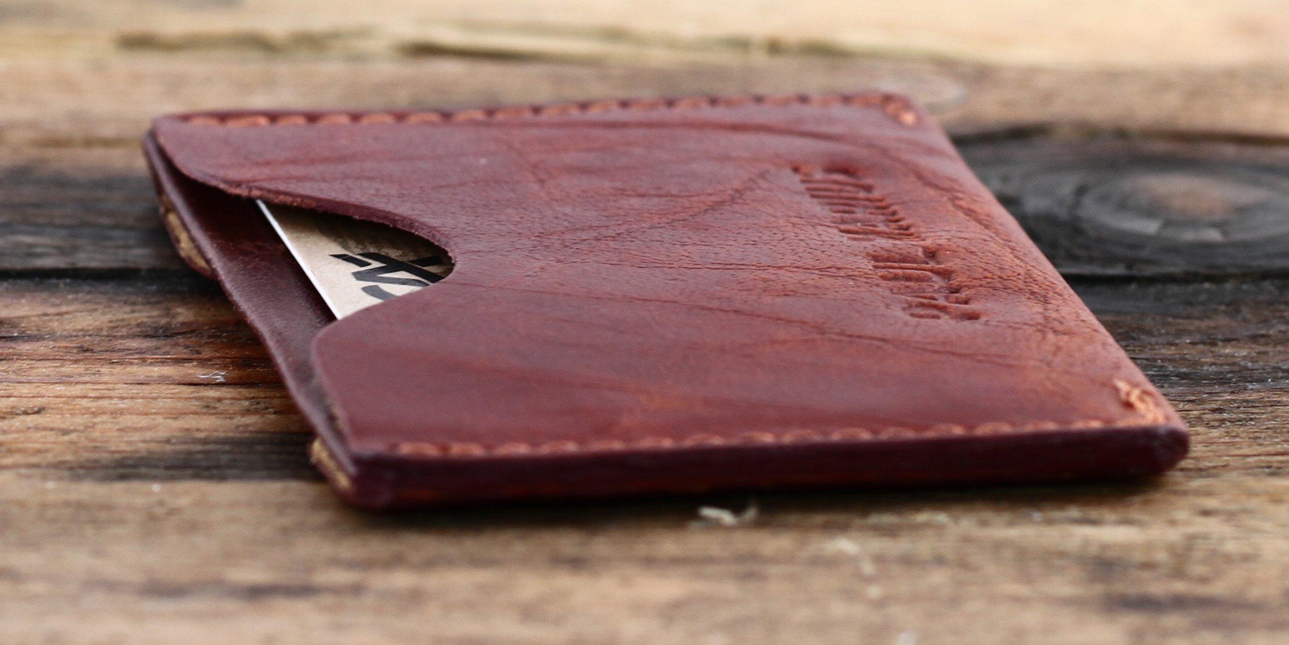 81Ni%2BDy4dHL - Gabin Tarjetero de Cuero marrón Tarjeta de crédito Tarjeta de fidelidad PAUL MARIUS
