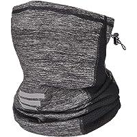 Maylisacc Multifunctional Face Cover Bandana, Breathable Ice Silk Bandana Headband with Drawstring for Men Women…