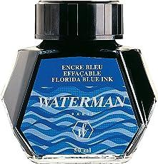 Waterman Ink Bottle Florida Blue/ Serenity Blue  50 ml