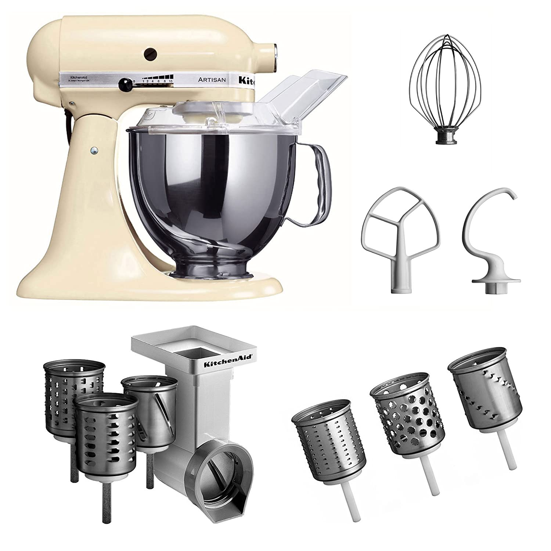 Amazon.de: Kitchenaid 5KSM150PSEAC Küchenmaschine, creme