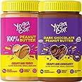 Yogabar Peanut Butter Combo | Pure Peanut Butter | Dark Chocolate Peanut Butter | 400gm Each