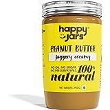 Happy Jars Jaggery Creamy Peanut Butter (290g), 10g Protein, Natural, No Sugar