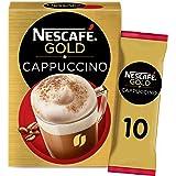 اكياس قهوة ميكس كابوتشينو من نيسكافيه جولد، 17 غرام، 10 اكياس- عبوة واحدة