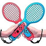 Jamswall Raquette de tennis pour Joy-con pour Mario Tennis Aces Nintendo Switch Raquette de Tennis pour Nintendo Switch