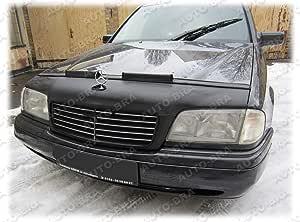 Auto Bra Ab 00321 Kompatibel Mit Mercedes Benz Mb C Klasse W202 Bj 1996 2001 Haubenbra Steinschlagschutz Tuning Bonnet Bra Spielzeug