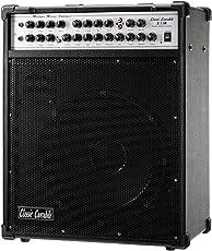"""Classic Cantabile Multiple Amp X-11R, 5-Kanal-Verstärker für Gitarre, Bass,  2x Gesang und CD/MP3-Player(Leistung: 200 Watt, 12"""" Lautsprecher, 3-Band EQ, Effekt Sektion mit Hall und Echo Effekt)"""