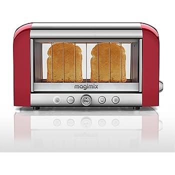 Magimix 2-Slot Vision Toaster 11528 - Red Finish