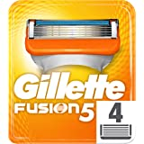 Gillette Fusion Razor Blades for Men, 4 Refills, Packaging May Vary