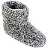 ESTRO Unisex Uomo Pantofole Donna Inverno Lana Ciabatte Suola Antiscivolo Ole