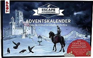 Adventskalender Escape Adventures 2019: Löse die 24 Rätsel der geheimnisvollen Burg. Mit geheimnisvollen Objekten,...