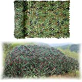 Camouflagenet,Woodland Camo Netting Lichtgewicht Army Camo Nets Groen 1.5x2M,1.5x4M,2x3M,2x5M,2x6M,2x8M,3x3M,4x5M, 4x6M,6x6M,