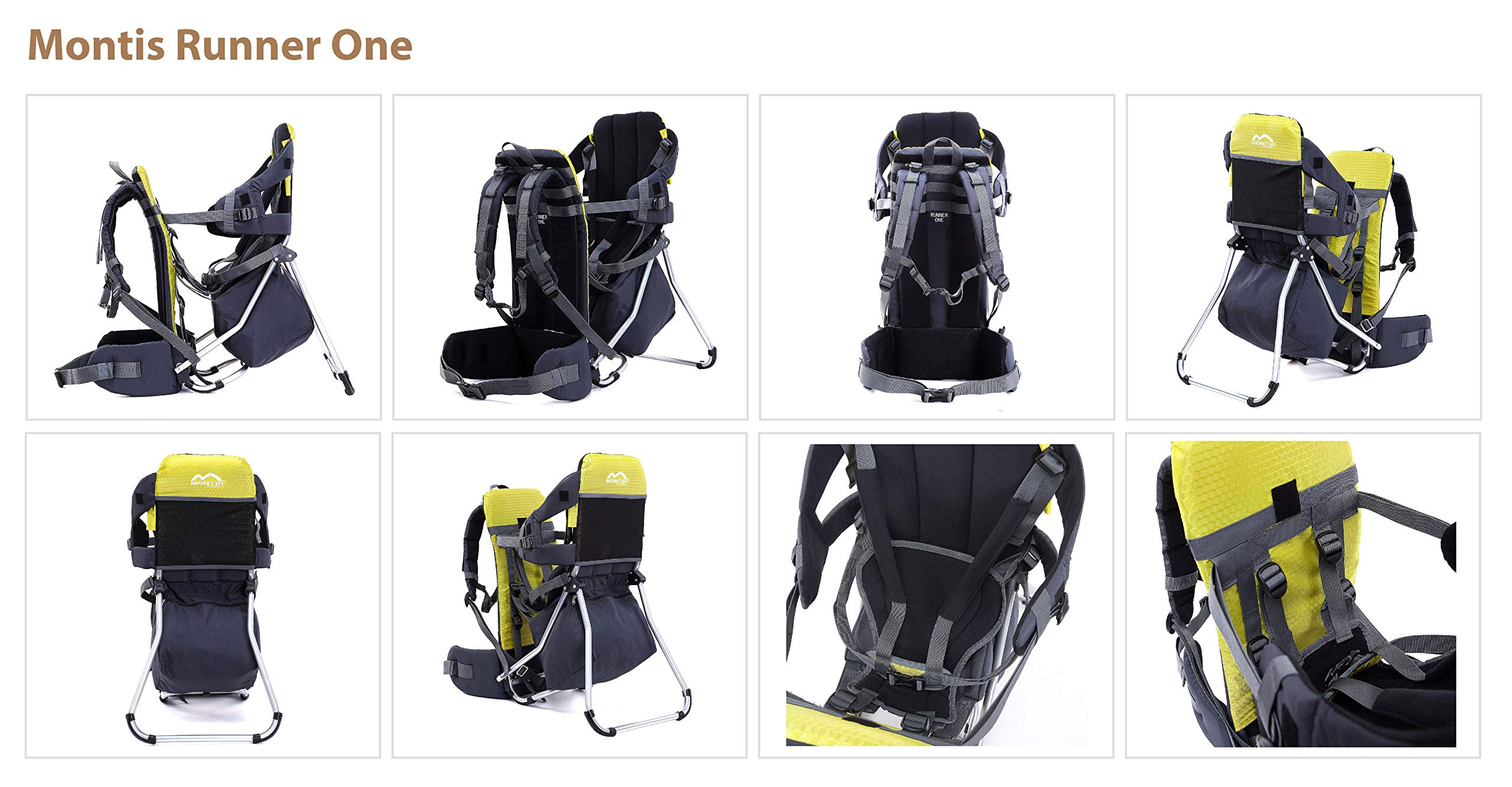 MONTIS RUNNER ONE Holds up to 25kg Backpack//Child Carrier