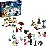 LEGO 75981 Harry Potter Calendrier de l'Avent LEGO Harry Potter jeu de Construction de Noël - Scène du Bal de Noël à…