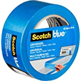 ScotchBlue Premium schildercrêpe universeel, 48 mm x 41 m, veelzijdig Scotch plakband voor schilderwerk en decoratie, voor bi
