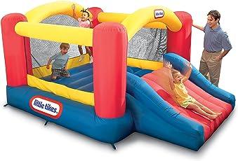 Little Tikes Jump N Slide Dry Bouncer, Multi Color