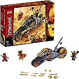 LEGO®-NINJAGO® La moto tout-terrain de Cole Jeu pour Enfant 8 Ans et Plus, Briques de Construction Garçon et Fille, 212 Pièces 70672