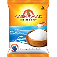 Aashirvaad Iodized Salt, with 4-Step advantage, 1kg