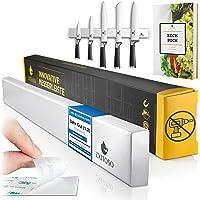 Exitoso L'Original – Barre Magnétique pour Couteau Cuisine – Pas de Trous – Accessoire Cuisine Auto-Adhésif Grâce au…