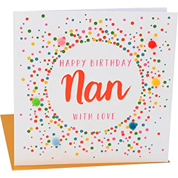 Hallmark Birthday Card For Nan You Deserve The Best Arts Crafts Medium 11338525