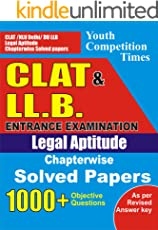 CLAT AND LLB: ENGLISH BOOK (20180710 40)