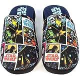 Pantofole da Uomo Star Wars Comic all Over Print Scarpe da casa in Poliestere