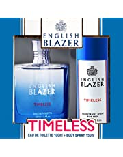 ENGLISH BLAZER TIMELESS EAU DE TOILETTE 100ml + BODY SPRAY 150ml Gift Pack