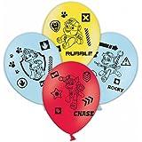 Amscan 99994527,9cm Paw Patrol 4Faces Ballons en Latex