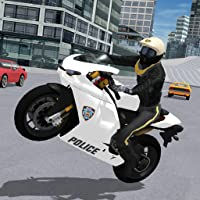 Police Motorbike City Driving