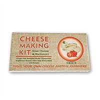 Kit de fabrication de fromage Halloumi et chèvre - Cadeau idéal pour toutes les occasions - Contient de la présure