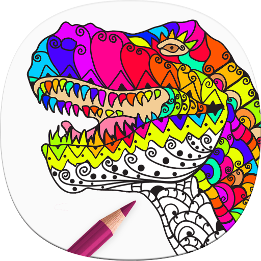 Coloriage Dinosaure Adulte.Dinosaure Coloriage Adulte Amazon Fr Appstore Pour Android