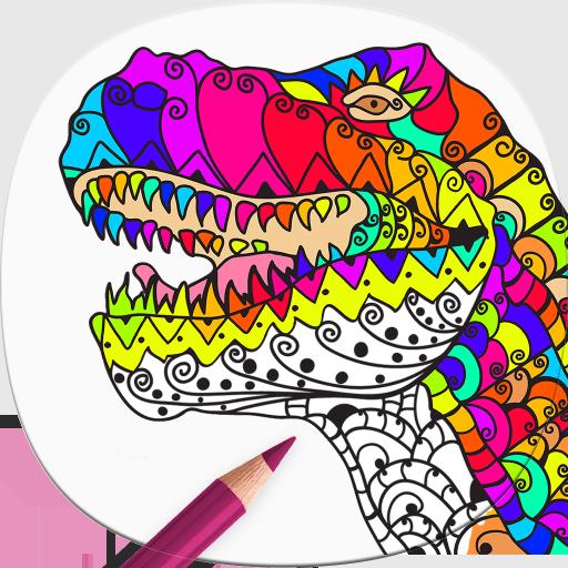 Dinosaurier Ausmalbilder Für Erwachsene Amazon De Apps Für Android