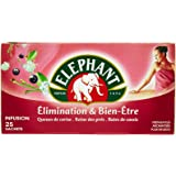 Elephant Infusion Elimination & Bien-Etre 25 Sachets 40g - Lot de 4