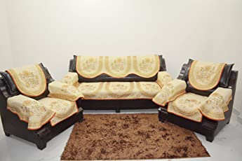 Kingly Sofa Cover With Arm Set Of 12Pc(3+1+1)