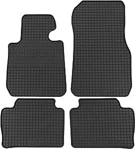Gercar Passgenaue Gummimatte 4 Teilig In Schwarz Für Bmw 3er F30 Ab 02 2012 3er F31 Touring Ab 09 2012 Passform Fußmatten Inklusive Befestigungssystem Auto