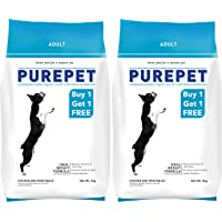 Purepet Chicken & Veg Adult Dog Food, 3kg (Buy1 get 1Free)