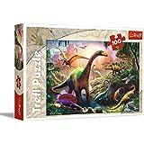 Trefl - 16277 - Puzzle - Dinosaur Pays - 100 Pièces